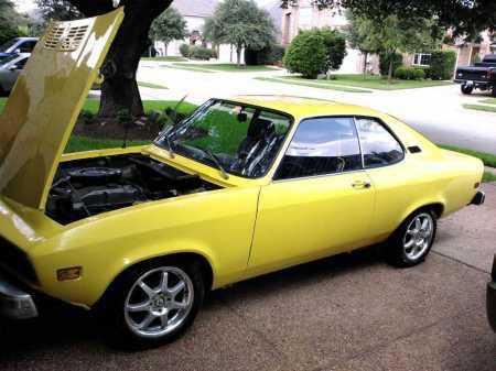 1974 Opel Manta left front