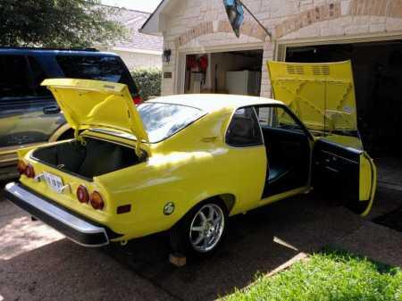 1974 Opel Manta right rear