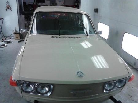 1974 Volkswagen 412 Squareback front