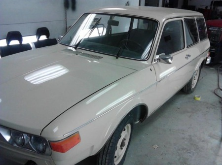 1974 Volkswagen 412 Squareback left front