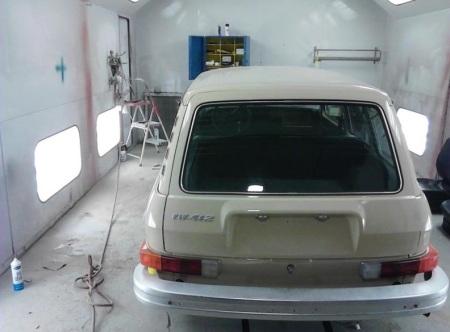 1974 Volkswagen 412 Squareback rear