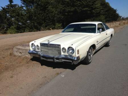 1975 Chrysler Cordoba left front