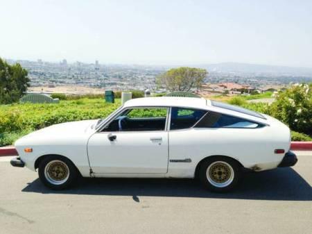 1975 Datsun B210 white