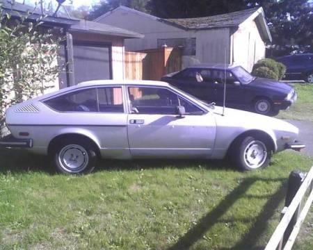 1979 Alfa Romeo Alfetta GTV silver right side