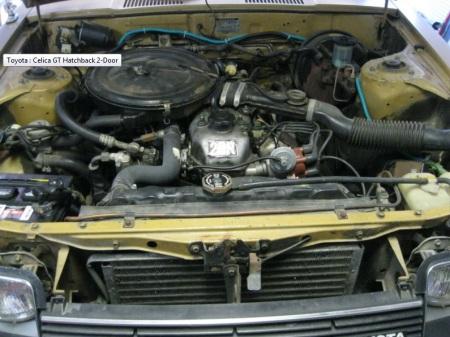 1979 Toyota Celica GT engine