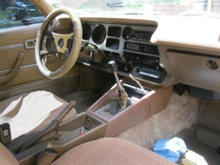 1979 Toyota Celica GT interior