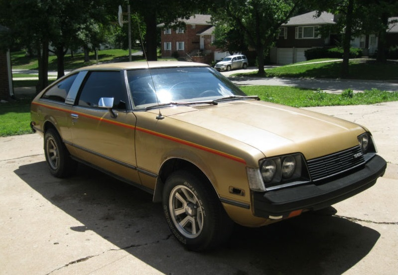 Toyota Coupes 2 1979 Toyota Celica Gt Rusty But Trusty