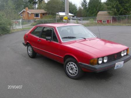 1980 VW Scirocco right front
