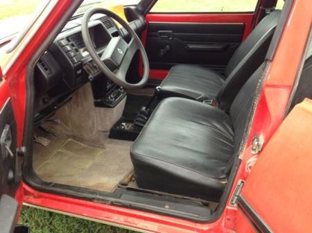 1981 Renault LeCar interior