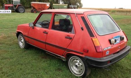 1981 Renault LeCar left rear