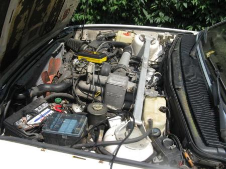 1984 BMW 745i 5spd engine