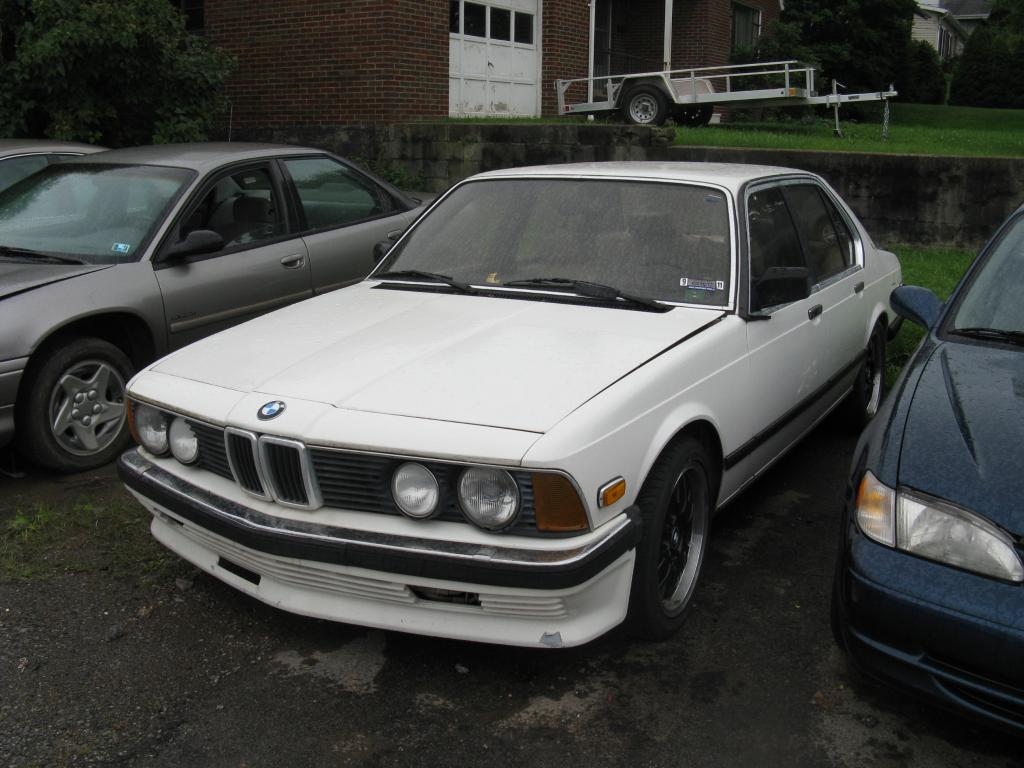 autobahn bruiser part zwei 1984 bmw 745i turbo 5 speed rusty but trusty. Black Bedroom Furniture Sets. Home Design Ideas