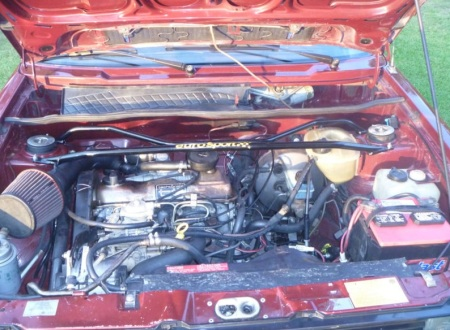 1984 Volkswagen Rabbit TDI engine