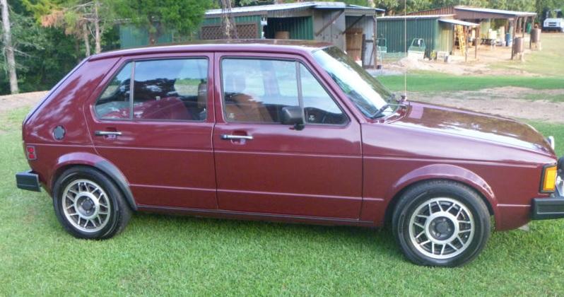 Tasteful EcoRocket  1984 Volkswagen Rabbit Turbo Diesel  Rusty