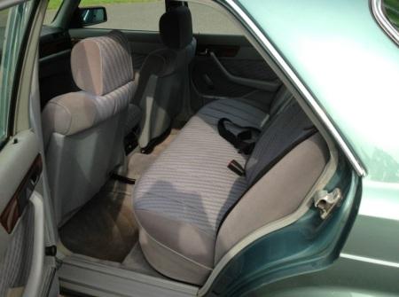 1983 Mercedes 380SE interior
