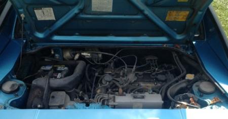 1985 Toyota MR2 engine