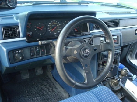 1985 Volvo 740 Turbo interior