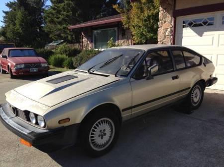 1986 Alfa Romeo GTV6 3.0 left front