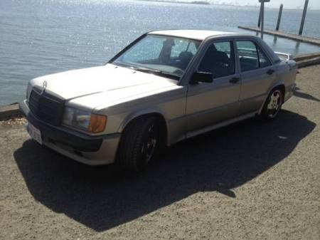 1986 Mercedes 190E 2.3-16 left front