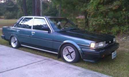 1986 Toyota Cressida right front