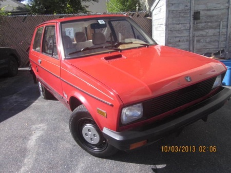 1986 Yugo GV right front
