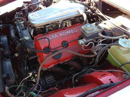 1987 Alfa Romeo GTV6 3.0 engine