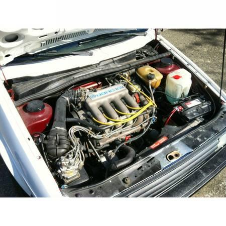 1987 Volkswagen Golf GTI engine