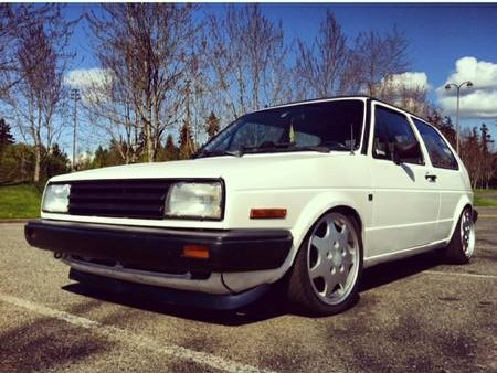1987 Volkswagen Golf GTI left front