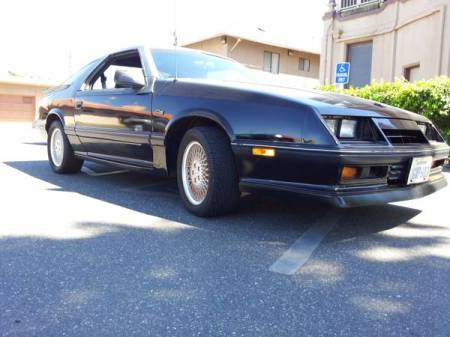 1988 Dodge Daytona Turbo Z C-S right front