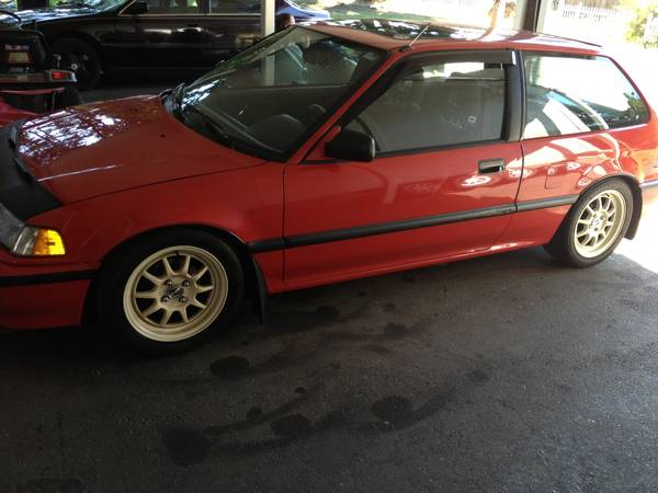 1991 Honda Civic Si Left Front