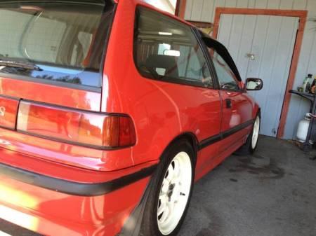1991 Honda Civic Si right rear