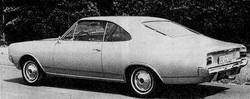 Opel Rekord C stock image