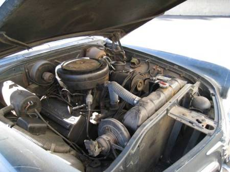 1956 Chrysler Imperial for sale engine