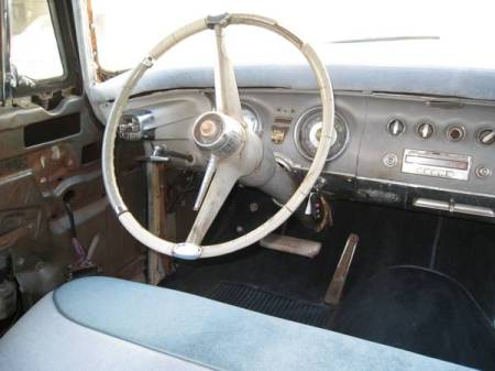 1956 Chrysler Imperial for sale interior