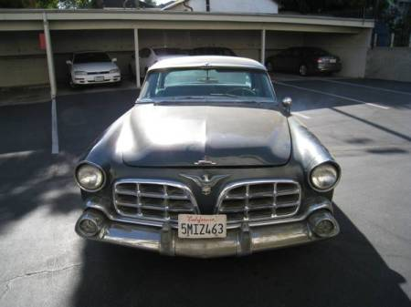 1956 Chrysler Imperial for sale nose
