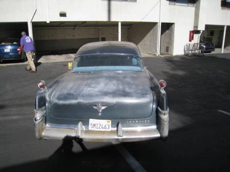 1956 Chrysler Imperial for sale tail