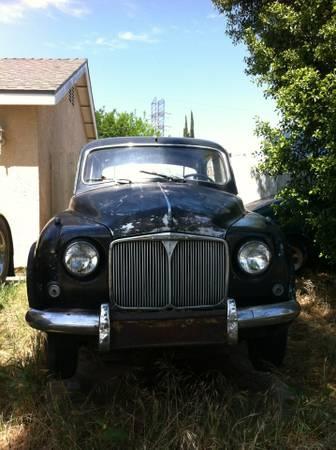 1956 Rover P4 75 nose