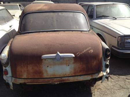 1958 Borgward Isabella TS sedan for sale