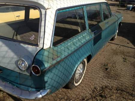 1961 Chevrolet Corvair Lakewood right rear for sale