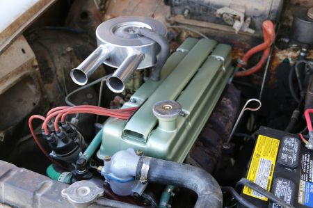 1961 Humber Super Snipe for sale engine