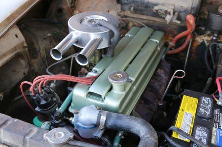 1961 Humber Super Snipe for sale engine