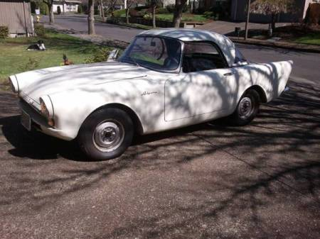 1961 Sunbeam Alpine for sale left front