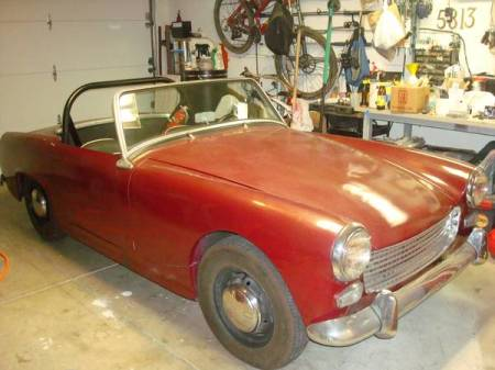1962 Austin Healey Sprite for sale right front