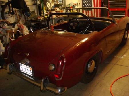 1962 Austin Healey Sprite for sale right rear