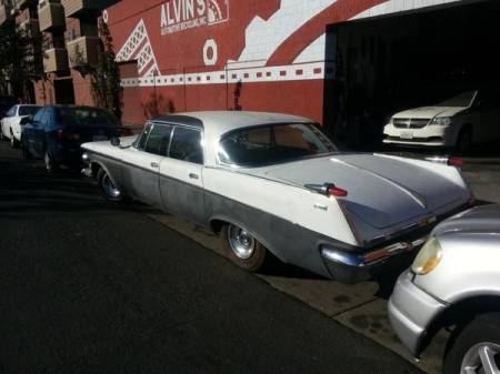 1962 Imperial left rear