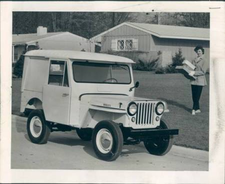 1963 Jeep DJ-3A Dispatcher publicity image