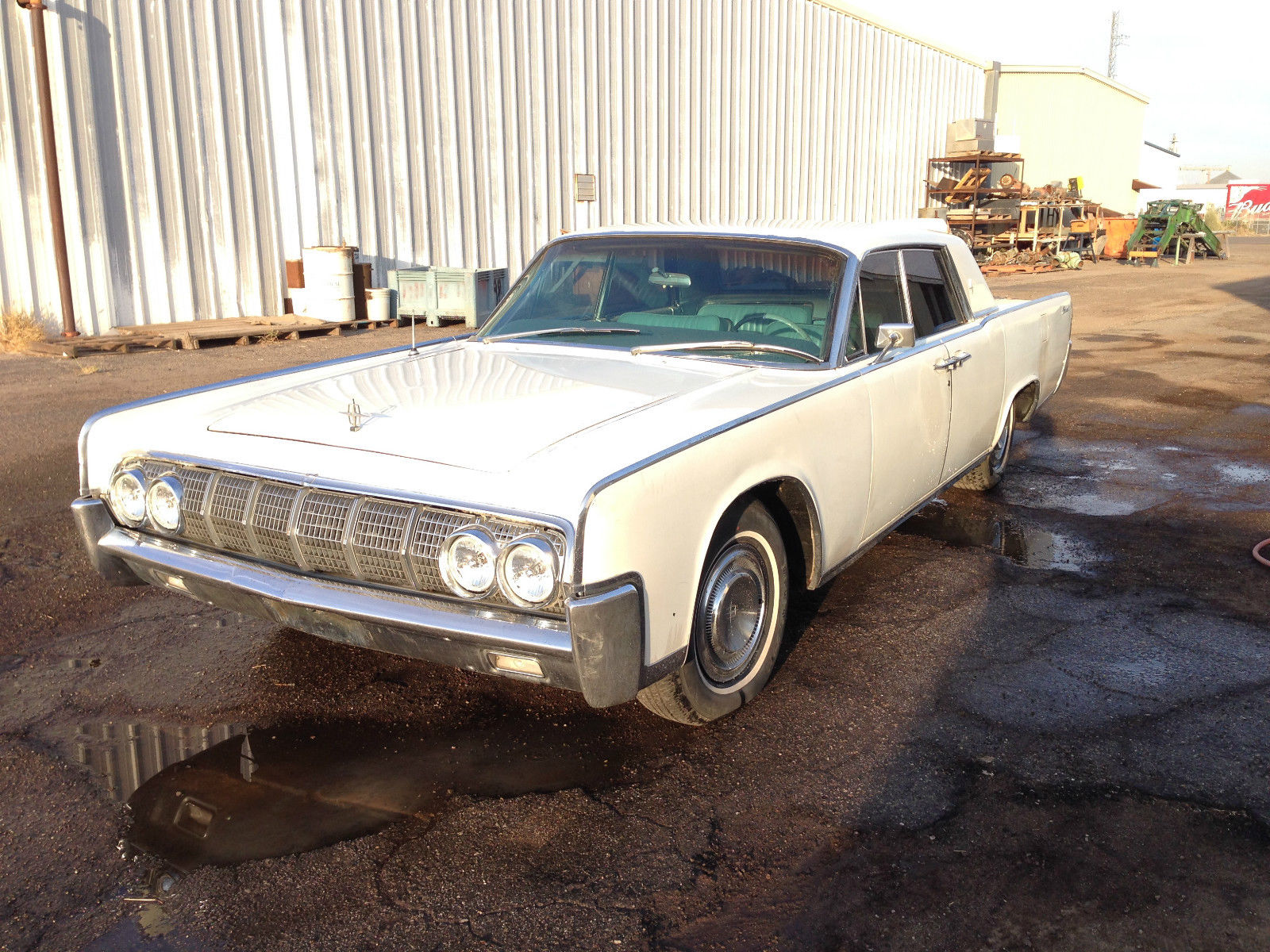Square Shouldered 1964 Lincoln Continental Hardtop Sedan