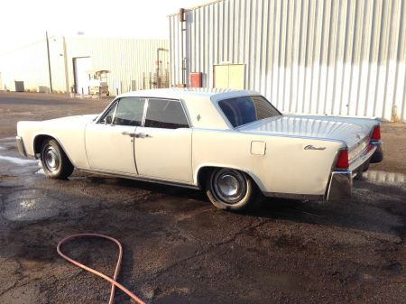 1964 Lincoln Continental left side