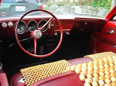 1965 Chevrolet Corvair interior