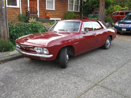 1965 Chevrolet Corvair left front